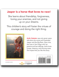 Jasper and the Big Race